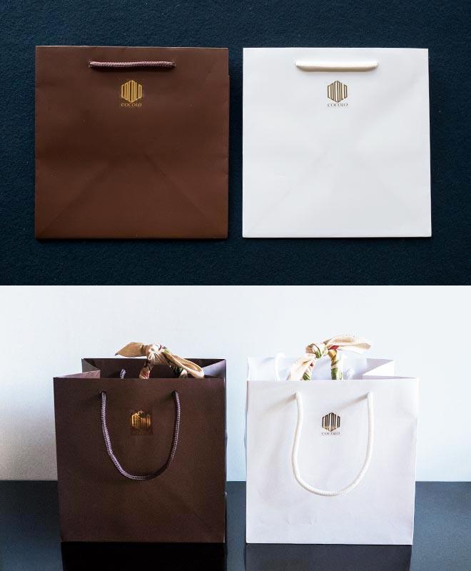 包装紙・手提げ袋