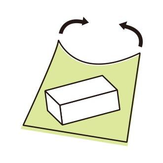 風呂敷使い方:引っ掛け包み